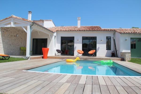 Villa sur l 39 ile de r nos r alisations delrieu for Maison moderne ile de re